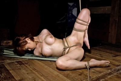 美女の緊縛・拘束ヌード画像 13
