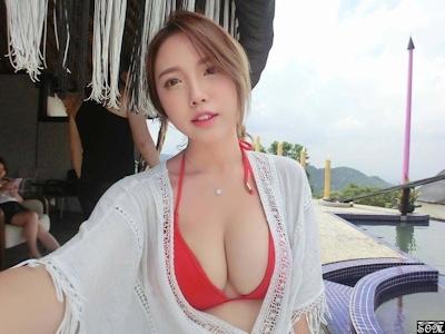 美人で巨乳と話題の台湾のネイリスト 林奈奈(Lin Nainai) 7
