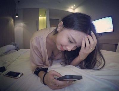 美人で巨乳と話題の台湾のネイリスト 林奈奈(Lin Nainai) 17