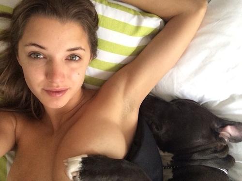 アメリカモデル Alyssa Arce(アリッサ・アルセ)の自分撮り 流出ヌード画像 3