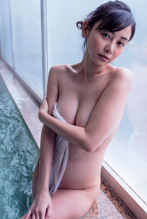 杉原杏璃 セミヌードグラビア画像 7