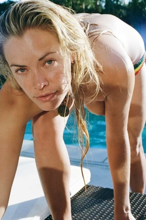 American actress Kristanna Loken Private nude pictures leaked 17