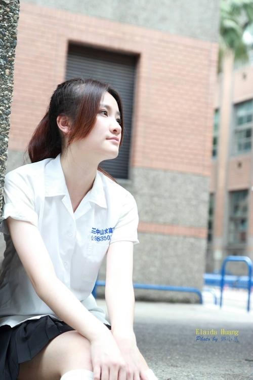 台湾の美少女JKの制服画像 2