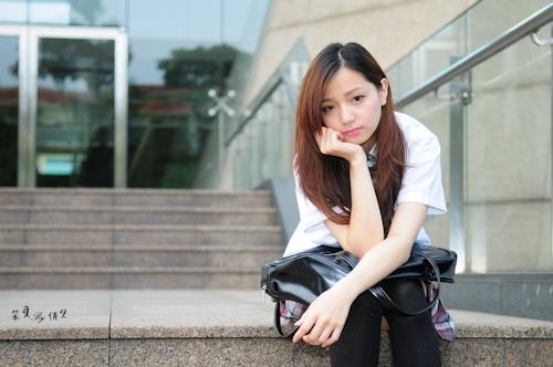 台湾の美少女JKの制服画像 8