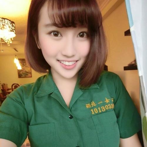 台湾の美少女JKの制服画像 11