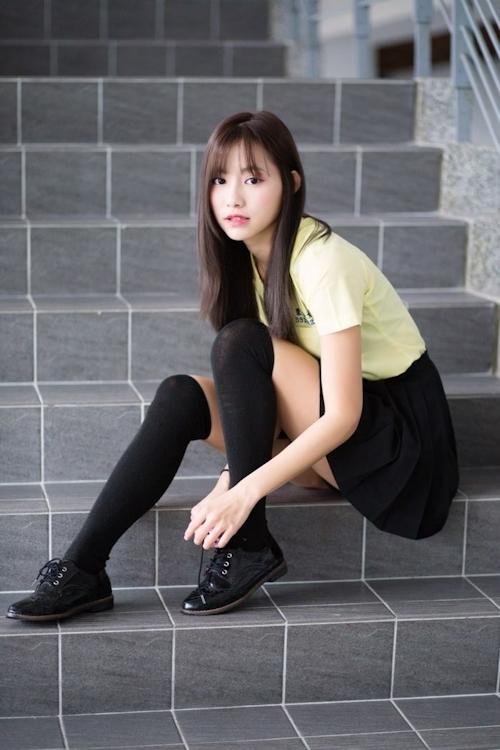 台湾の美少女JKの制服画像 19