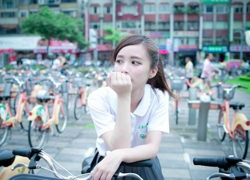 台湾の美少女JKの制服画像 24