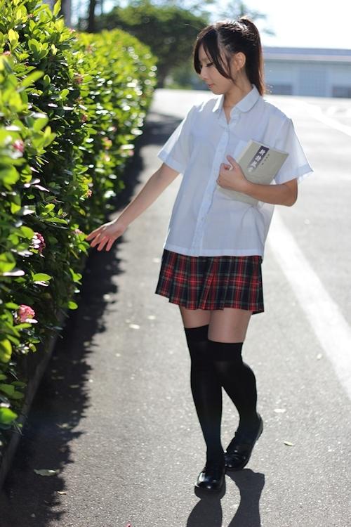 台湾の美少女JKの制服画像 30