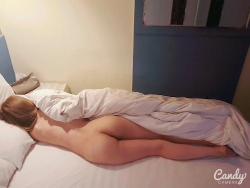 ギャルな韓国素人女性の美尻ヌード画像 4