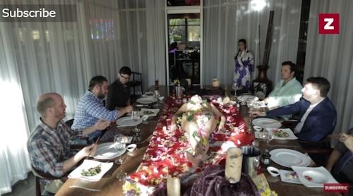 ラスベガス寿司レストラン 女体盛りサービス 7