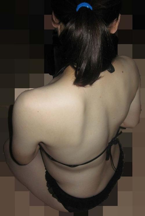 巨乳な素人女性のハメ撮りヌード画像 2