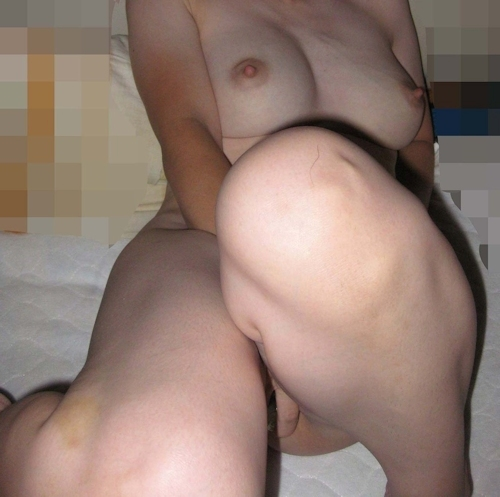 巨乳な素人女性のハメ撮りヌード画像 14