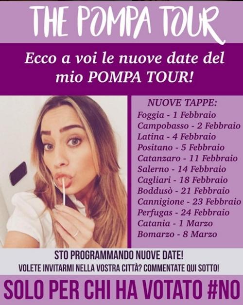 イタリア美女モデル Paola Saulino(パオラ・サウリノ)が公約を守って700人にフェラ実施 1