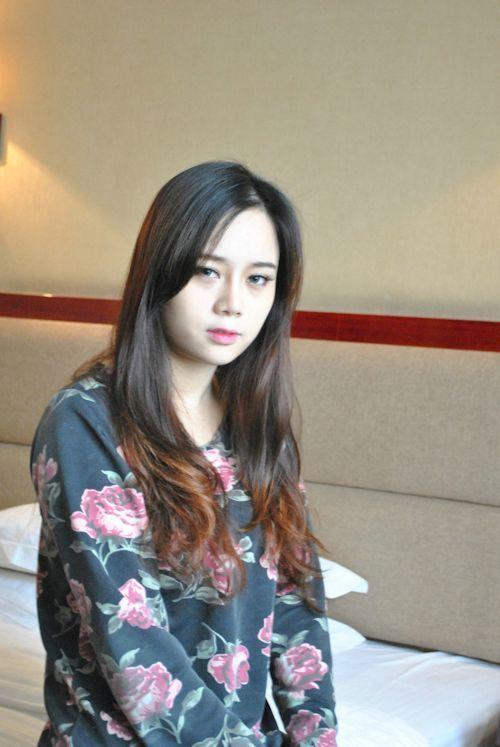 巨乳な中国美女に撮影させてもらったヌード画像 1