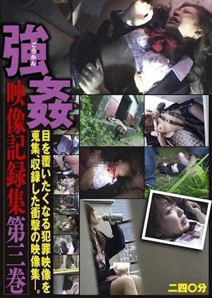 強 姦映像記録集 目を覆いたくなる犯罪映像を蒐集、収録した衝撃の映像集―。 第三巻