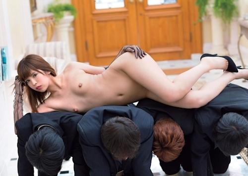 ANRI(坂口杏里) セクシーヘアヌード画像 4
