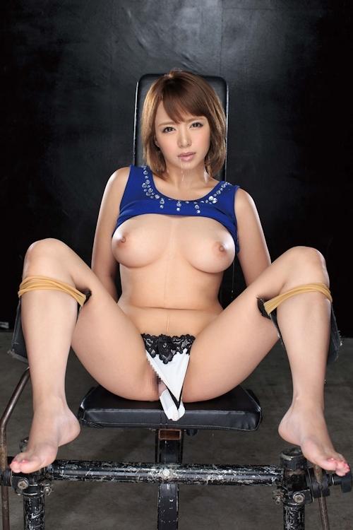 美女のM字開脚ヌード画像 26
