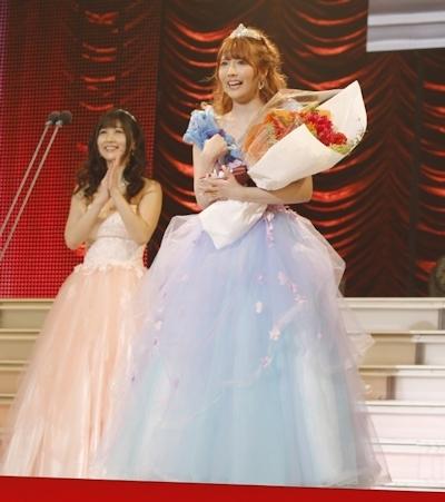 【速報】最優秀女優賞は三上悠亜!「今日がいっちばん幸せで嬉しいです!」