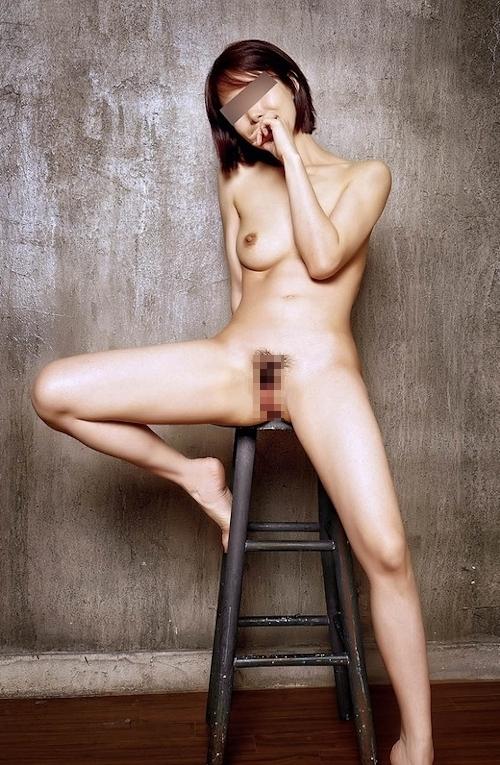 美乳な韓国美女のヌード&セックス画像 5