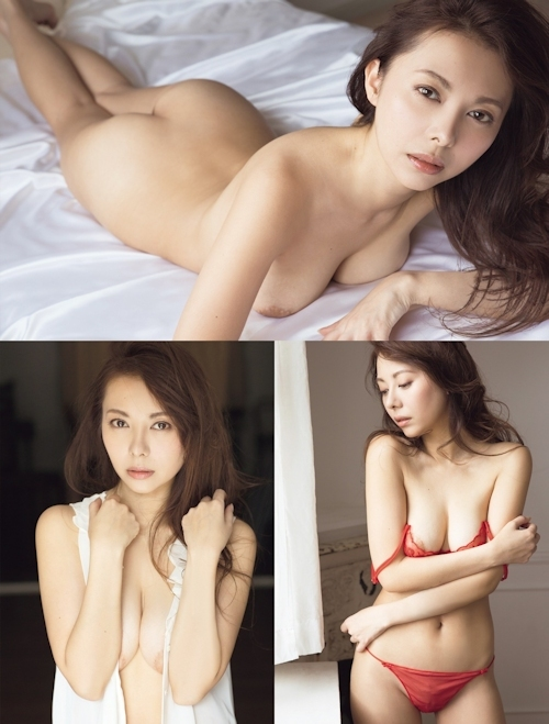 不倫騒動の女優 濱松恵 セクシーヌードグラビア 2