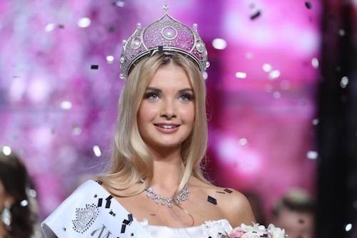 ミス・ロシア2017はPolina Popova(ポリーナ・ポポワ)に決定 1