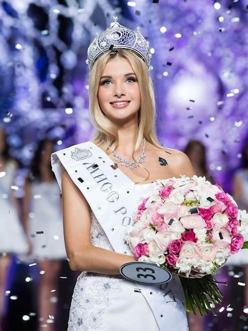 ミス・ロシア2017はPolina Popova(ポリーナ・ポポワ)に決定 2