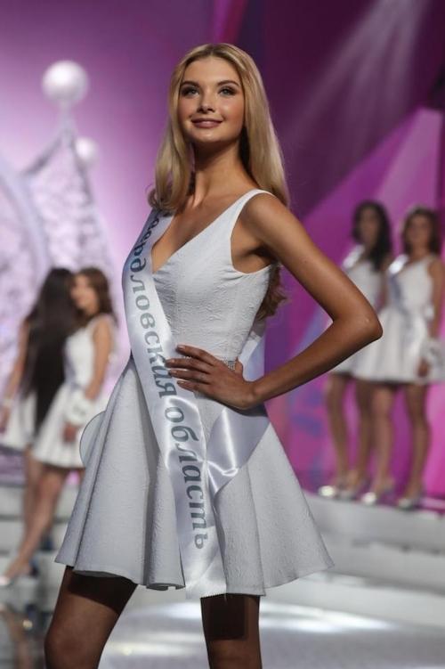 ミス・ロシア2017はPolina Popova(ポリーナ・ポポワ)に決定 9