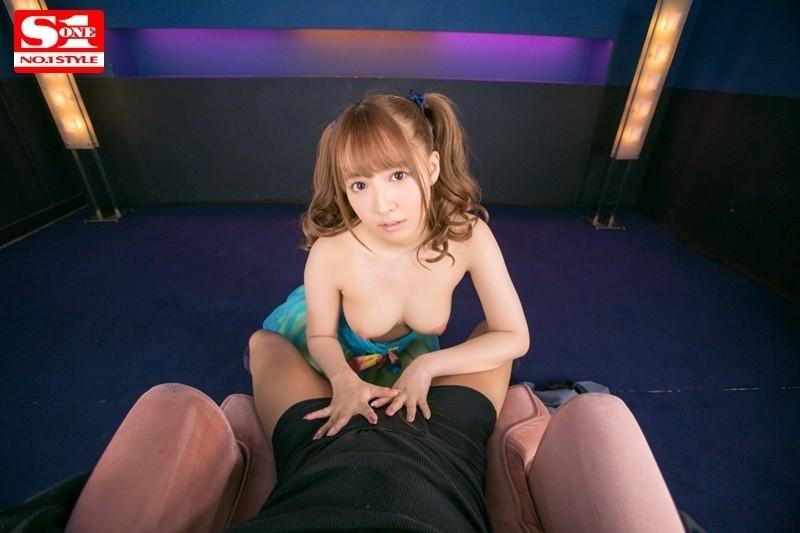 【VR×S1】国民的アイドル三上悠亜がヴァーチャルリアル空間であなただけにフェラチオしてあげる 3