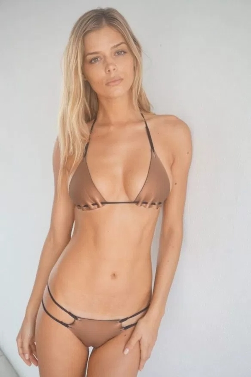 カナダモデル Danielle Knudson(ダニエル・ヌードソン) 自分撮りヌード流出画像 1