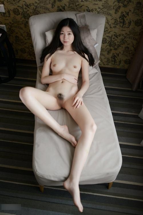 中国美女モデル 张静文(ZhangJingwen) セクシーヌード画像 18