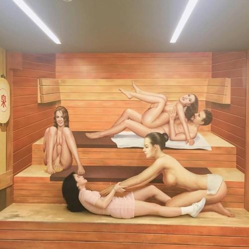 韓国の女の子が性愛美術館(Love Museum)で撮影したユニークなエロ画像 7