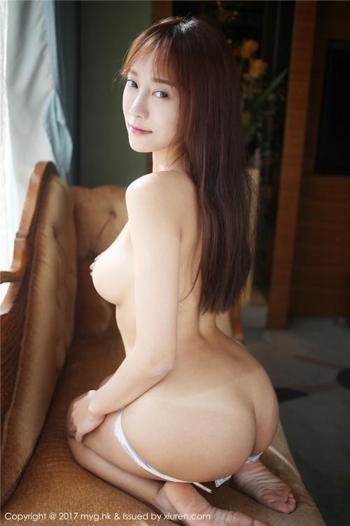 中国巨乳美女モデル 猩一(Xingyi) セクシーセミヌード画像 8