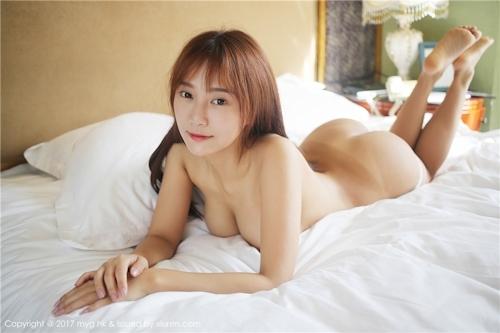 中国巨乳美女モデル 猩一(Xingyi) セクシーセミヌード画像 12