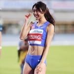 香港の美人走り高跳び選手 楊文蔚(Cecilia Yeung) が香港記録更新