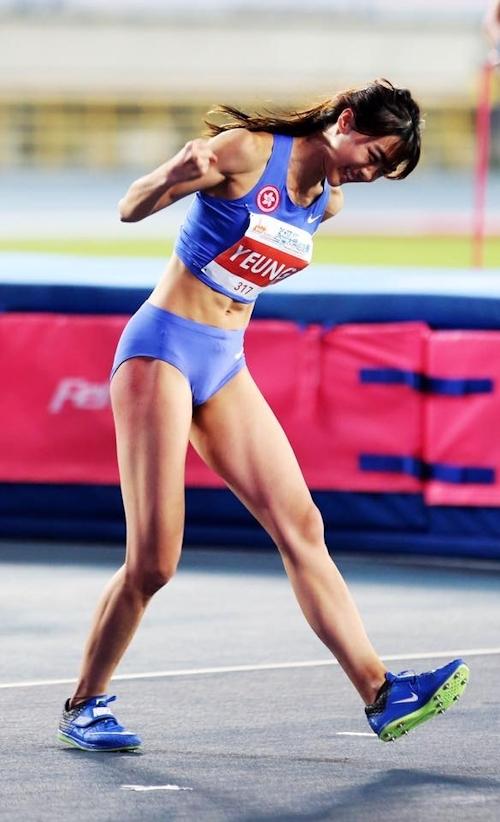 香港の美人走り高跳び選手 楊文蔚(Cecilia Yeung) 2