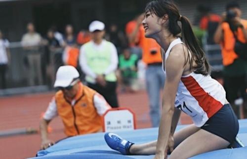 香港の美人走り高跳び選手 楊文蔚(Cecilia Yeung) 4
