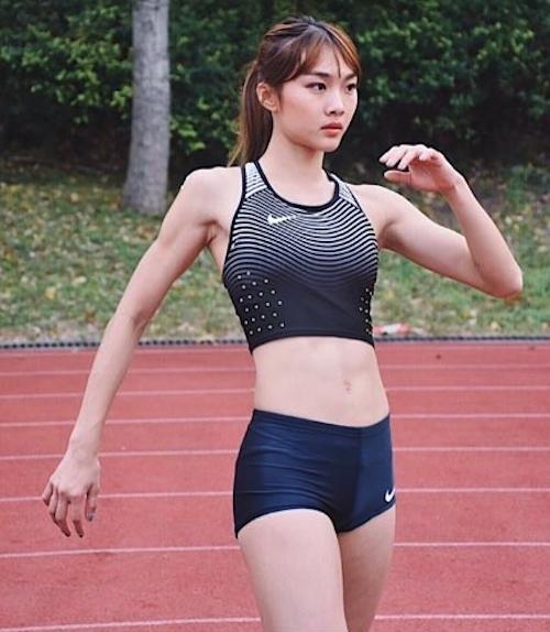 香港の美人走り高跳び選手 楊文蔚(Cecilia Yeung) 9