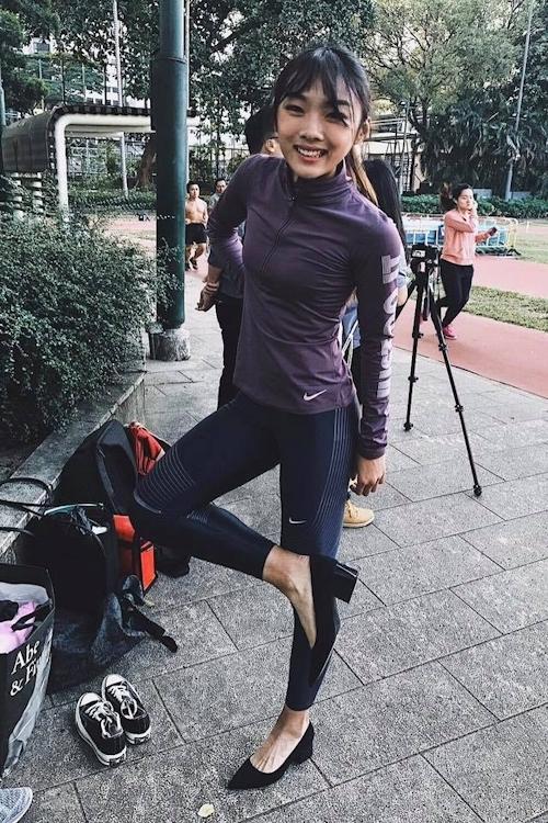 香港の美人走り高跳び選手 楊文蔚(Cecilia Yeung) 12