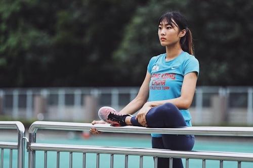 香港の美人走り高跳び選手 楊文蔚(Cecilia Yeung) 16