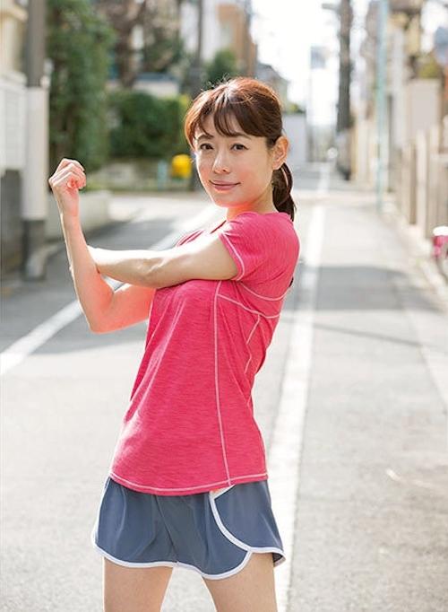 美人マラソンランナー 松山まなか セクシーヌード画像 2
