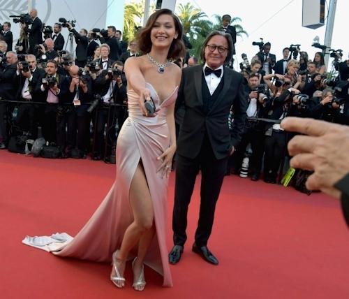 Bella Hadid(ベラ・ハディッド)がカンヌでセクシードレス&パンチラ  5