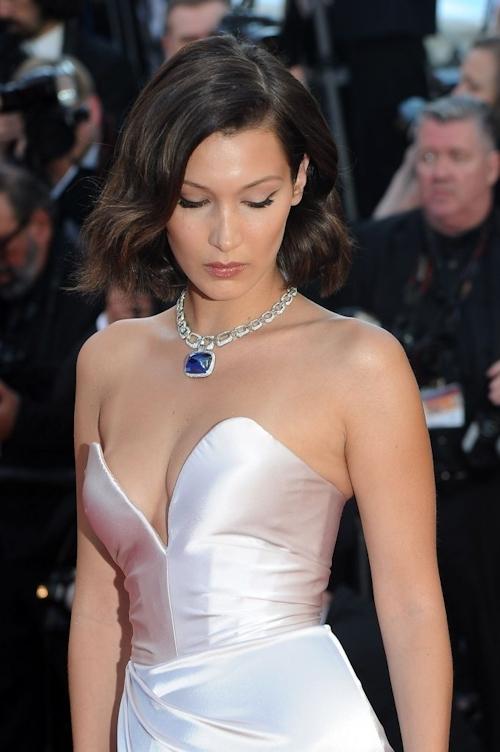 Bella Hadid(ベラ・ハディッド)がカンヌでセクシードレス&パンチラ  8