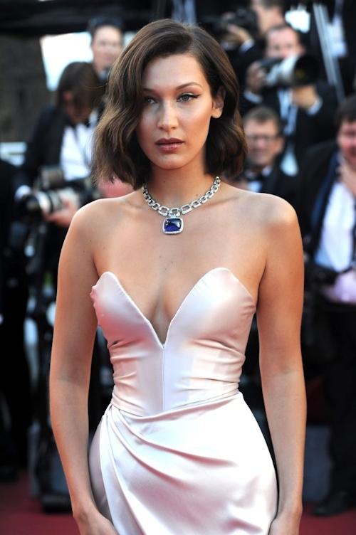 Bella Hadid(ベラ・ハディッド)がカンヌでセクシードレス&パンチラ  9