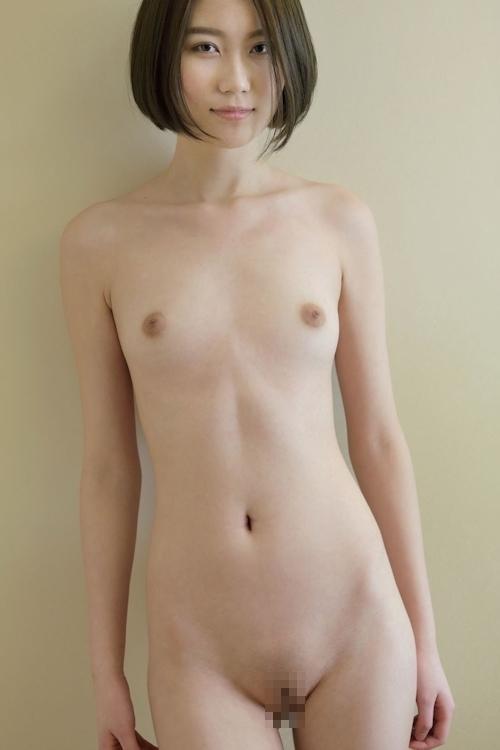中国のスレンダー微乳な極上美女モデル 伊丽莎白(エリザベス) セクシーヌード画像 4