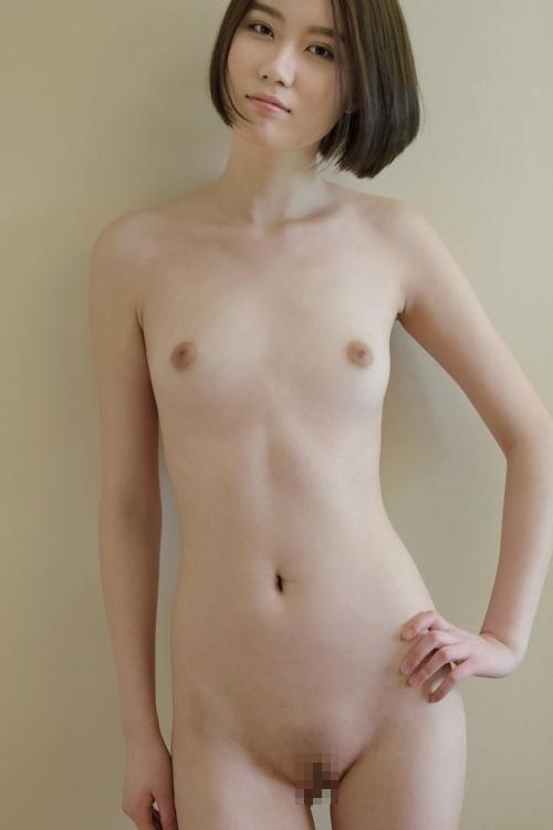 中国のスレンダー微乳な極上美女モデル 伊丽莎白(エリザベス) セクシーヌード画像 5