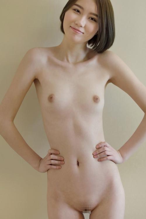 中国のスレンダー微乳な極上美女モデル 伊丽莎白(エリザベス) セクシーヌード画像 7