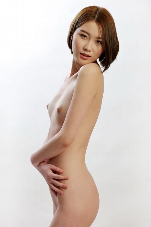 中国のスレンダー微乳な極上美女モデル 伊丽莎白(エリザベス) セクシーヌード画像 12