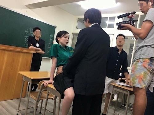 吉川あいみ×台湾制服 2