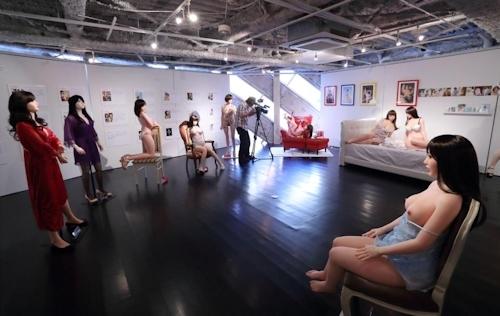 オリエント工業40周年記念展「今と昔の愛人形」