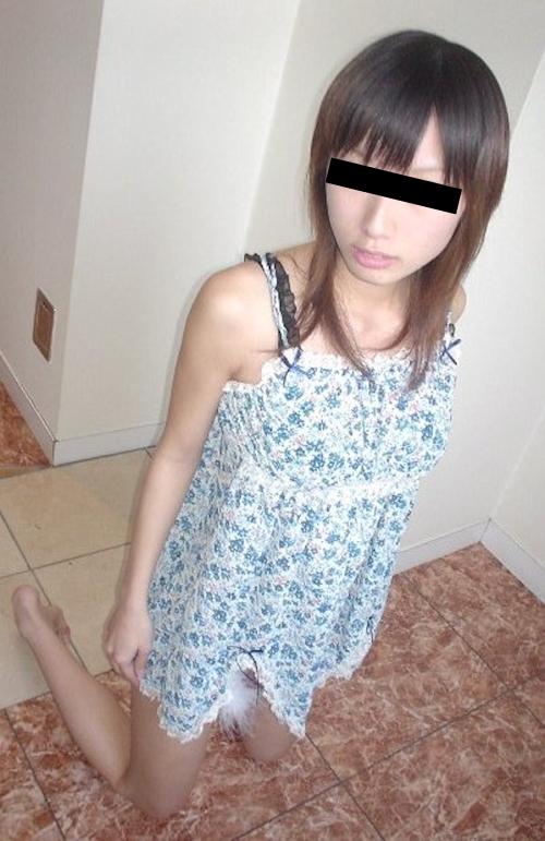 ギャル系美女の緊縛ヌード画像 1